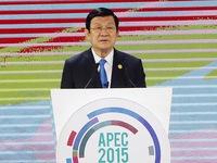 Chủ tịch nước dự Hội nghị Thượng đỉnh doanh nghiệp APEC 2015