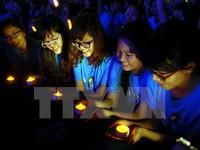 Việt Nam tiết kiệm 520.000kWh trong Giờ Trái đất 2015
