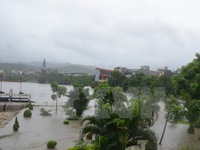 Quảng Ninh: Nước lũ dâng cao khiến 4 xã vùng cao bị chia cắt