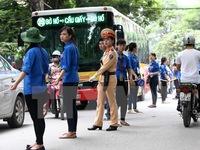 Hà Nội: Đảm bảo an toàn giao thông cho kỳ thi THPT Quốc gia