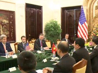Việt Nam - Hoa Kỳ thúc đẩy quan hệ đối tác toàn diện