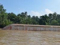 Chưa tìm thấy nạn nhân mất tích vụ chìm sà lan ở Tiền Giang