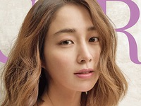 Lee Min Jung khoe vẻ đẹp trẻ trung với tông trắng tinh khôi
