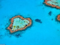 Những địa danh hình trái tim lãng mạn nhất thế giới