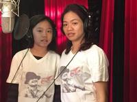 Nén nỗi đau, vợ Trần Lập đưa con gái tham gia thu âm ca khúc tưởng nhớ chồng