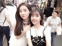 Nhã Phương thích thú khám phá đường phố Hàn Quốc