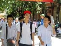 Kỳ thi THPT Quốc gia: Hơn 30 thí sinh chỉ xét tốt nghiệp