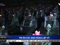 Hà Nội: Hàng nghìn người tham dự Lễ thắp nến tri ân các Anh hùng Liệt sỹ