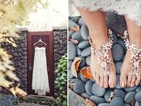 Giày cưới cho cô dâu thời trang và cá tính