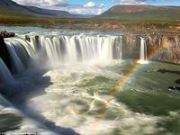 Những hình ảnh cầu vồng vắt qua núi ngoạn mục ở Iceland