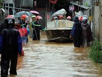 Mưa lớn gây ngập lụt tại Lai Châu