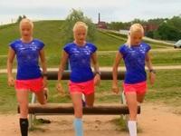 Ba chị em đồng sinh cùng tham dự Olympic Rio