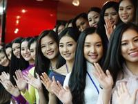 Các bóng hồng khoe sắc tại sơ khảo Hoa hậu Việt Nam 2016