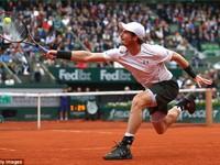 Vượt qua Gasquet, Murray hẹn Wawrinka tại bán kết Pháp Mở rộng 2016