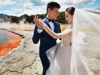 Ngô Kỳ Long - Lưu Thi Thi tung ảnh cưới lãng mạn