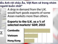 """Nếu Anh rời EU, Việt Nam sẽ trong nhóm """"người buồn nhất"""""""