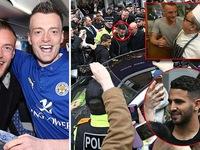 Dàn sao Leicester City gây bão trong ngày đầu tiên sau khi vô địch NHA