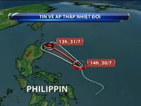 Ngày 31/7, tâm bão nằm trên vùng biển phía Đông Bắc đảo Luzon, Philippines