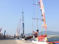 Tối 25/02, 12 thuyền buồm Clipper diễu hành trên sông Hàn