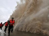 Trung Quốc đưa ra mức cảnh báo màu vàng đối với bão Nida