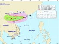 Ngày mai, bão số 3 đi vào đất liền các tỉnh phía Đông Bắc Bộ và Thanh Hóa