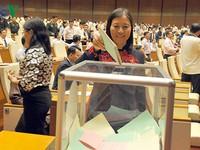 Danh sách các chức vụ quan trọng trong Quốc hội khóa XIV