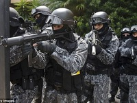Brazil diễn tập chống khủng bố trước thềm Olympic