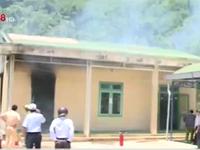 Quảng Ngãi: Cháy trường mẫu giáo, thiệt hại 1 tỷ đồng