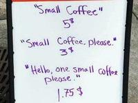 Quán cafe tính phí... theo thái độ