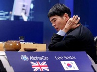 Nhà vô địch cờ vây chịu thua AlphaGo ở trận đấu thế kỷ