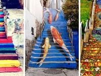 Những cầu thang bắt mắt nhất thế giới