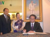 Những hoạt động nổi bật của Chủ tịch nước tại Lào