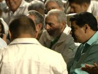Lãnh đạo Cuba Fidel Castro xuất hiện trước công chúng
