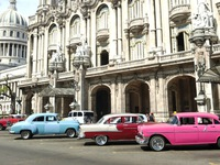 Xe cổ và tính lạc quan của người Cuba
