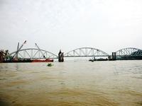 Chính thức thông tàu cầu Ghềnh sau 3 tháng gián đoạn