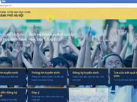 Hà Nội hoàn thiện phần mềm tuyển sinh trực tuyến đầu cấp