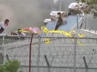 Người di cư đốt phá tại trại tị nạn ở Hy Lạp