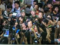 Chùm ảnh: Biển người chào đón người hùng Hoàng Xuân Vinh trở về sau kỳ tích tại Rio 2016