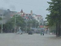 Quảng Ninh chìm trong biển nước sau mưa lớn