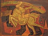 Cố danh họa Nguyễn Tư Nghiêm, người tạo nên bước chuyển cho sự phát triển sơn mài