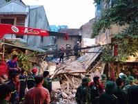 Khởi tố vụ sập nhà 3 tầng phố Cửa Bắc, Hà Nội khiến 2 người chết