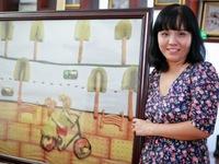 Vẽ tranh từ đồ ăn - Nét nghệ thuật mới lạ ở Việt Nam