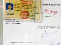 Gia Lai phát hiện gần 1.000 giấy phép lái xe giả