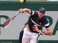 Dễ dàng vượt qua John Isner, Andy Murray giành vé vào tứ kết Pháp Mở Rộng