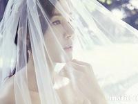 Kim Ha Neul diện váy cưới giữa khung trời Hawaii