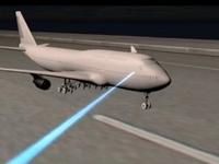 Chiếu đèn laser vào máy bay không liên quan đến khủng bố