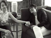 Lee Byung Hun lén đến phim trường thăm vợ