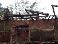 Quảng Trị: Lốc xoáy khiến 14 nhà dân bị hư hỏng và tốc mái