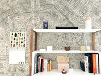 Những cách siêu chất để trang trí căn phòng với bản đồ