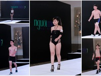 """Loạt thí sinh Next Top Model tự tin """"phá bỏ  mọi giới hạn"""" trong trang phục áo tắm"""